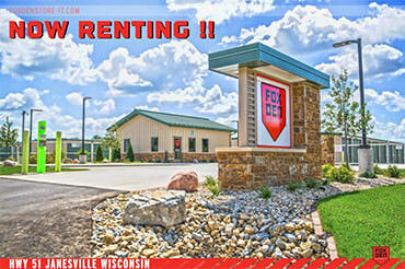New Janesville HWY 51 Storage location NOW RENTING!