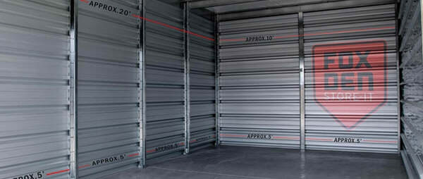How to Choose the Right Size Storage Unit