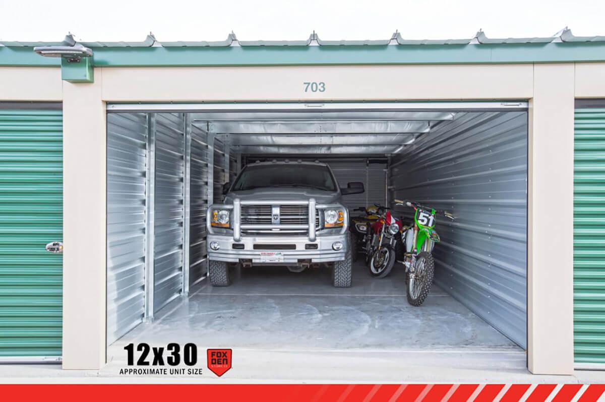 12´ x 30´ Self-Storage Unit Rentals - Monthly Rate $165 & 12´ x 30´ Storage Unit - Moon Meadows